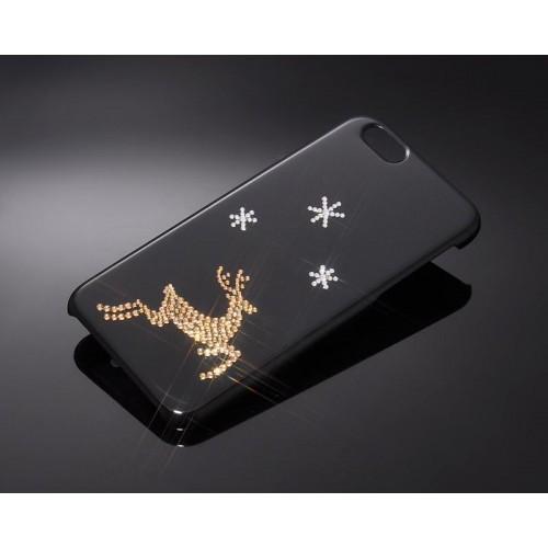 Xmas Deer Bling Swarovski Crystal Phone Cases
