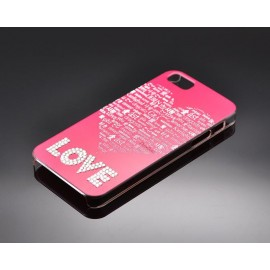 Borderless Love Bling Swarovski Crystal Phone Case..