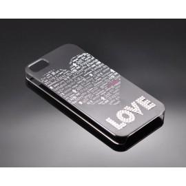 Borderless Love Bling Swarovski Crystal Phone Cases - Couple Set