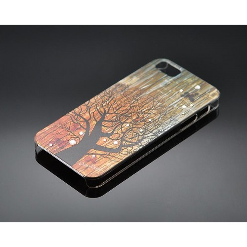 Timber Bling Swarovski Crystal Phone Cases - Aged Tree