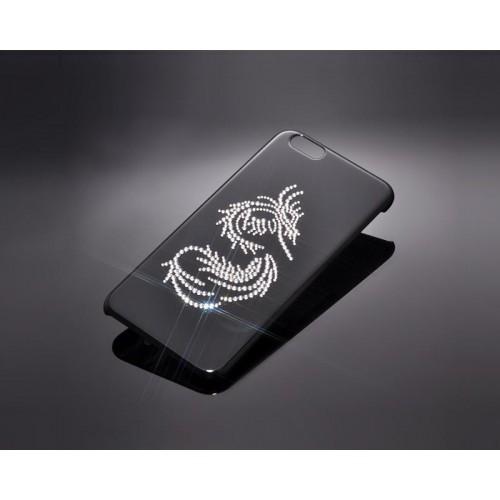 Silver Dragon Bling Swarovski Crystal Phone Cases