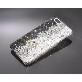 Gradation Bling Swarovski Crystal Unusual iPhone Xs Max Cases - Graphite Black