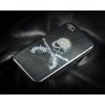 Skull Gun Bling Swarovski Crystal Phone Cases