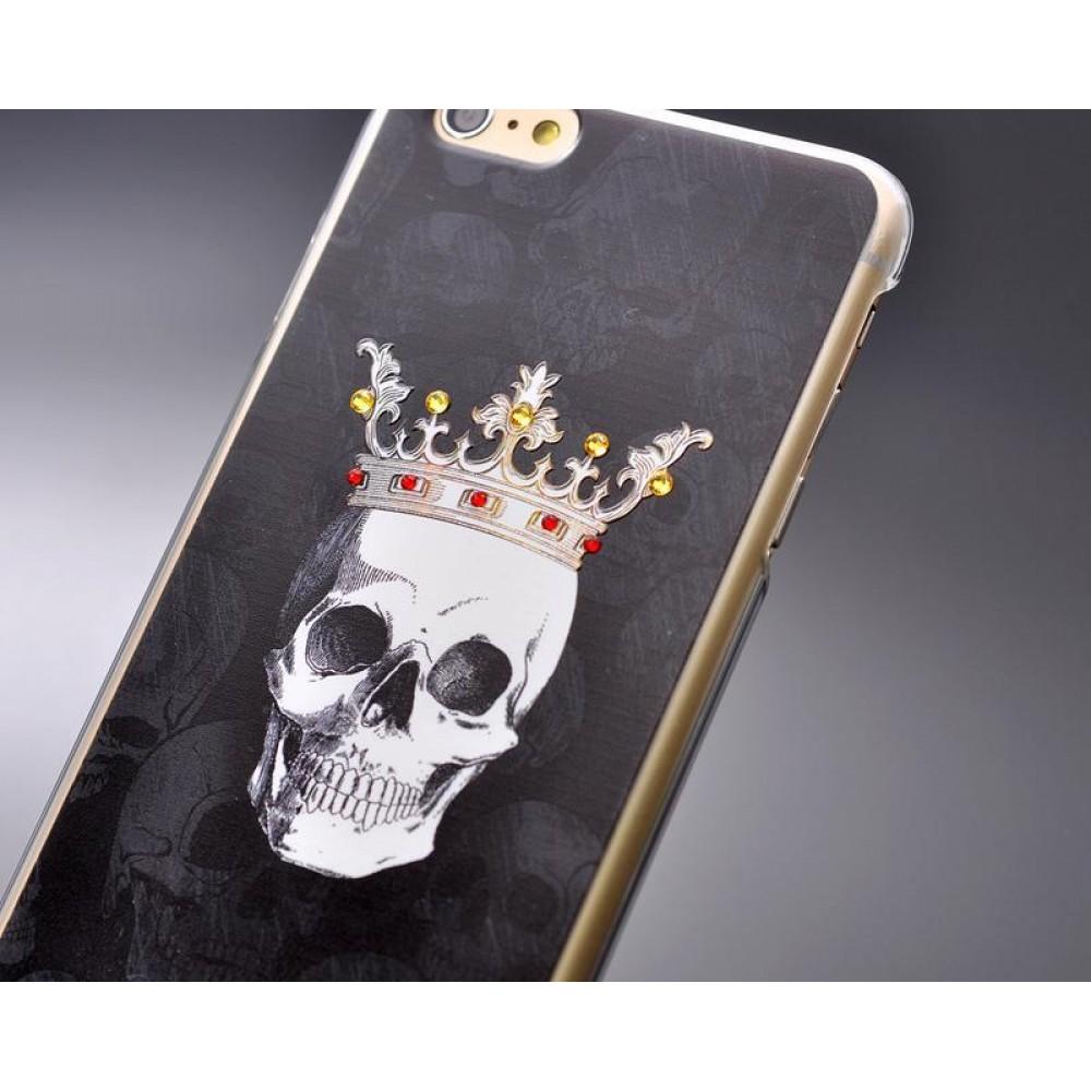 Skull Amused Bling Swarovski Crystal Phone Cases