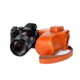 Retro Sony Alpha a7II Camera Leather Case