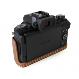 Canon PowerShot G1 X Mark III Genuine Leather Half Camera Case