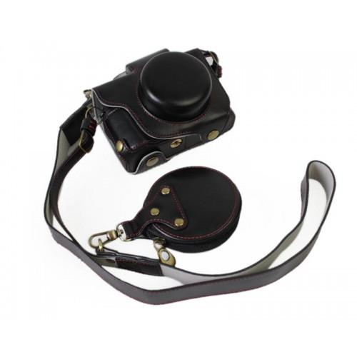 Premium Series Canon PowerShot G1 X Mark III Camera Leather Case