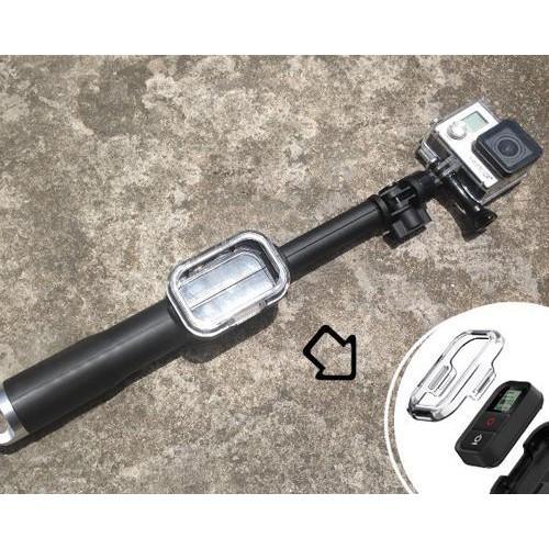 "GoPro Selfie 11""-23"" Telescoping Pole w/Remote Housing for Hero Camera"