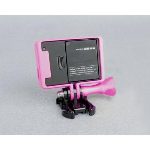 GoPro Border Standard Frame Mount for Hero 3 / 3+ / 4 Camera - Purple