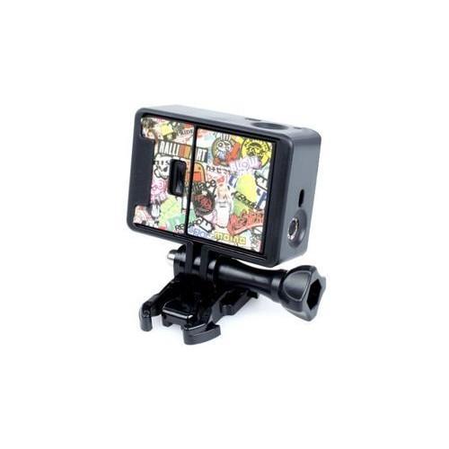 GoPro Border Standard Frame Mount for Hero 3 / 3+ / 4 Camera - Black
