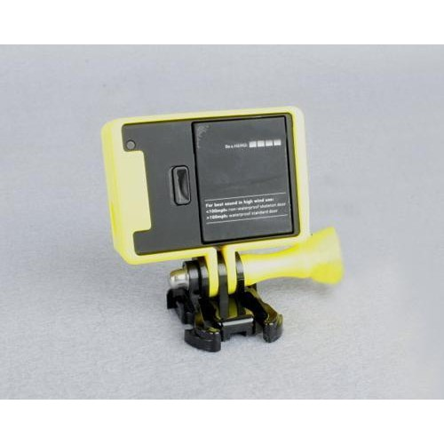 GoPro Border Standard Frame Mount for Hero 3 / 3+ / 4 Camera - Yellow