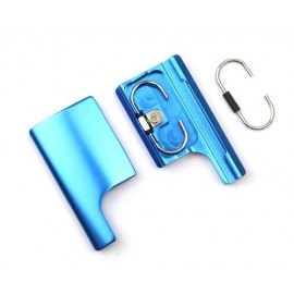 GoPro Replacement Rear Snap Latch Housing Lock for Hero 3+/4 - Blue