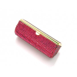 Classic Bling Swarovski Crystal Lipstick Case With..