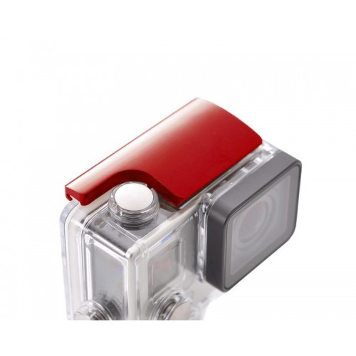 GoPro Aluminum Snap Latch Waterproof Housing Lock for Hero 3+/4-Red